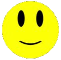 Gele smiley